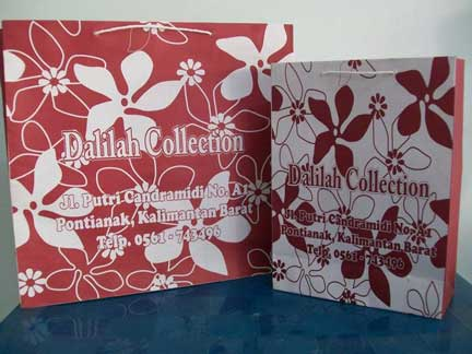 Tas Kertas Murah Dalilah Collection Pontianak