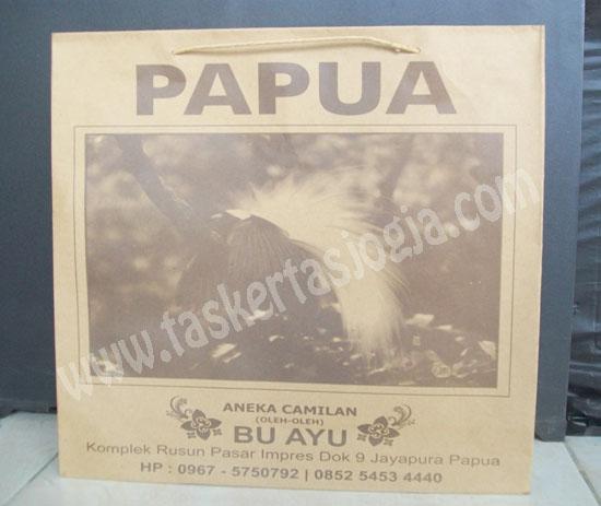 Tas Kertas Murah Aneka Camilan Papua