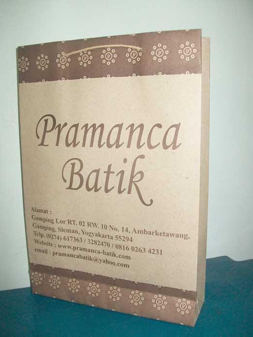 Tas Kertas Murah Pramanca Batik Jogja