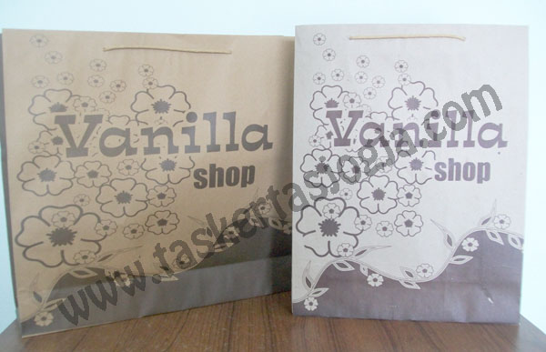 Tas Kertas Murah Vanilla Shop Pekanbaru