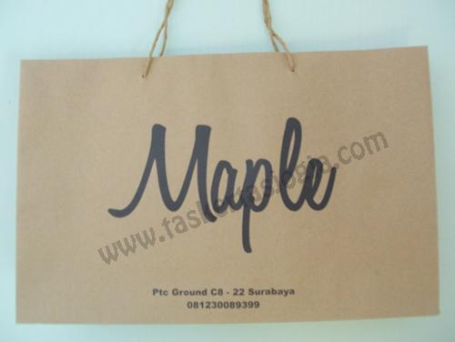 Tas Kertas Surabaya Maple