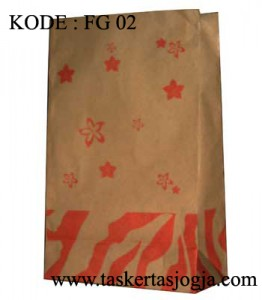 food grade paper bag KODE FG 02