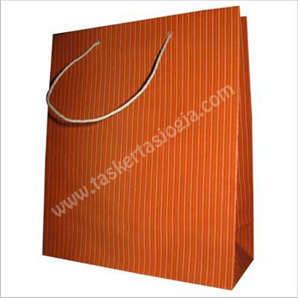 tas kertas garis orange 34