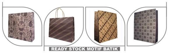tas kertas motif batik